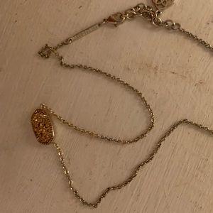 Rose gold Kendra Scott Elisa necklace